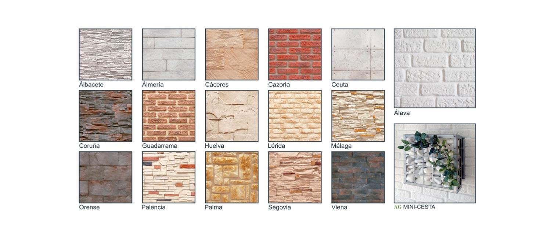 Revestimiento de paredes - Revestimiento de paredes imitacion piedra ...