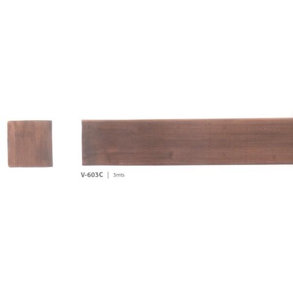 Viga hueca v 600 15x15 cm vigas huecas imitaci n madera - Vigas de madera huecas ...