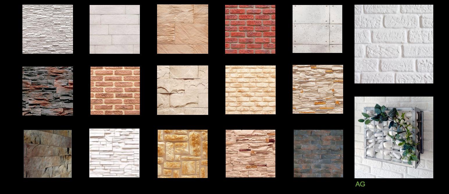 Revestimiento de paredes - Pared imitacion ladrillo ...