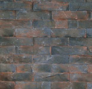 Revestimiento interior ladrillo gris for Imitacion ladrillo interior